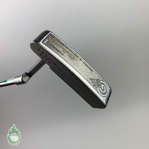 """Used Cleveland Classic Collection 1 Milled Face 35"""" Putter Steel Golf w/ Cover"""